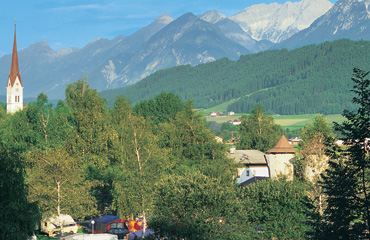 Alpen Camping Mark - Just one of the great campsites in Tyrol, Austria