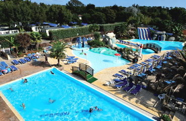 Camping de l'Atlantique - Holiday Park in Fouesnant, Brittany, France