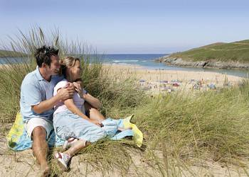 Crantock Beach - Holiday Park in Newquay, Cornwall, England