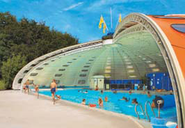 Birkelt - Holiday Park in Larochette, Luxembourg, Luxembourg