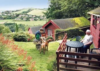 Grattons Cedar Lodges - Holiday Park in Ilfracombe, Devon, England