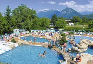 Camping Europa - Just one of the great holiday parks in Rhone Alpes, France