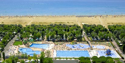 Marina Di Venezia Campsite - Just one of the great holiday parks in Venetian Riviera, Italy