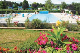 La Vallee - Holiday Park in Houlgate, Normandy, France