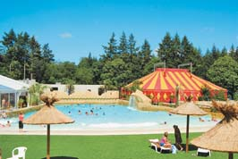 Chateau des Ormes - Eurocamp - Just one of the great campsites in Brittany, France