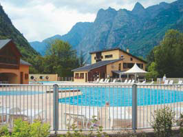 Le Belledonne - Just one of the great holiday parks in Rhone Alpes, France