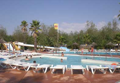 Les Mediterranees Beach Garden - Just one of the great holiday parks in Languedoc Roussillon, France