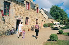 Chateau de Galinee - Holiday Park in St Cast, Brittany, France
