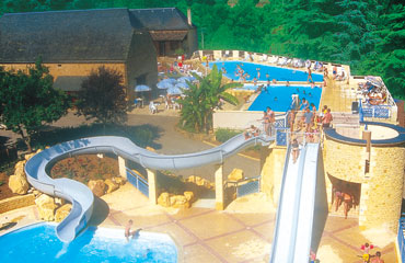 Camping Les Granges - Holiday Park in Grolejac, Aquitaine, France