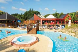 L'Atlantique - Eurocamp - Holiday Park in Beg Meil, Brittany, France