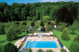 Chateau Le Brevedent - Just one of the great campsites in Normandy, France