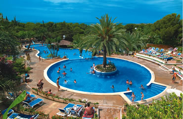 Camping Park Playa Bara - Holiday Park in Tarragona, Costa-Dorada, Spain