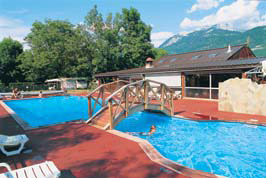 Camping Les Fontaines - Just one of the great campsites in Rhone Alpes, France