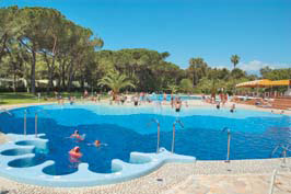 Baia Domizia - Just one of the great holiday parks in Lazio, Italy