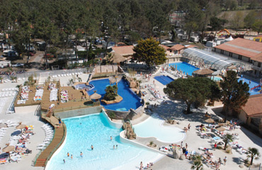 Camping le Vieux Port - Holiday Park in Messanges, Aquitaine, France