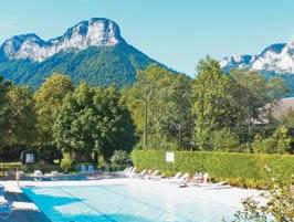 La Ferme de la Serraz - Just one of the great campsites in Rhone Alpes, France