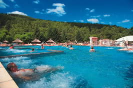 Les Ranchisses - Just one of the great holiday parks in Rhone Alpes, France