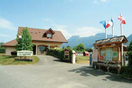 La Ravoire - Just one of the great campsites in Rhone Alpes, France