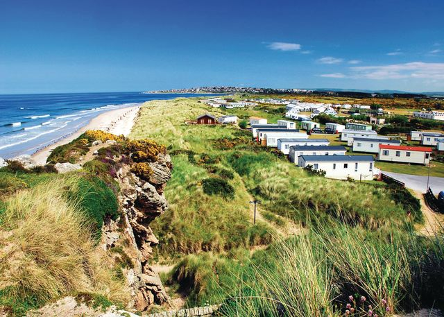 Silver Sands Holiday Park - Holiday Park in Lossiemouth, Morayshire, Scotland