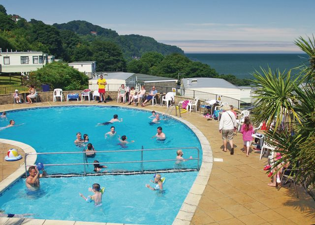 Sandaway Beach Holiday Park - Holiday Park in Combe Martin, Devon, England
