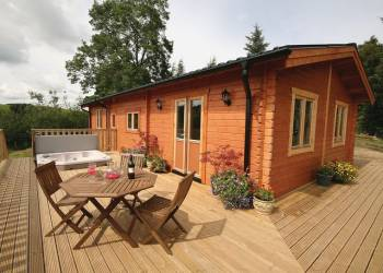 Pant Glas Farm Lodges - Holiday Park in Bishops Castle, Shropshire, England