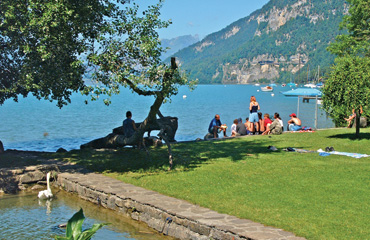 Camping Manor Farm - Just one of the great campsites in Berner Oberland, Switzerland