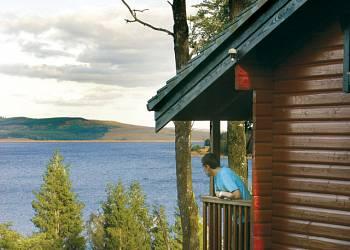 Kielder Water Lodges
