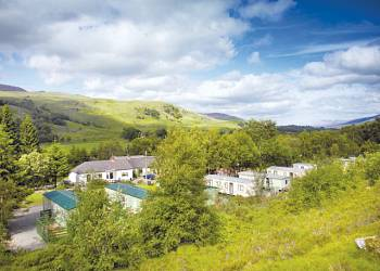 Glen Dochart - Holiday Park in Luib Crianlarich, Perth-and-Kinross, Scotland
