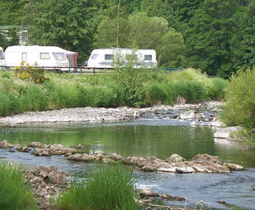Riverside Caravan Park - Holiday Park in Hawick, Borders, Scotland