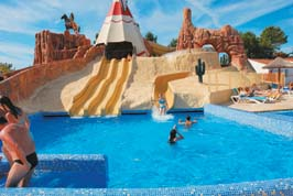 Les Genets - Just one of the great holiday parks in Loire, France