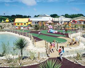 Thorpe Park Holiday Centre In Lincolnshire