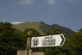 Great Langdale Campsite - Holiday Park in Great Langdale, Cumbria, England