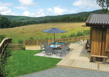 Lon Lodges - Holiday Park in Rhayader, Powys, Wales