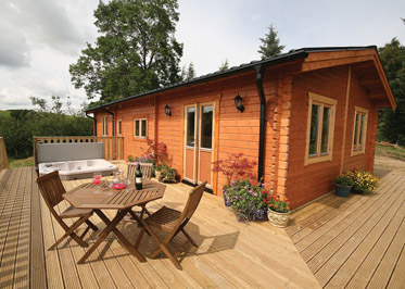 The Larches - Holiday Park in Bishops Castle, Shropshire, England