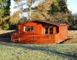 Snittlegarth Lodge 1 - Holiday Park in Ireby, Cumbria, England
