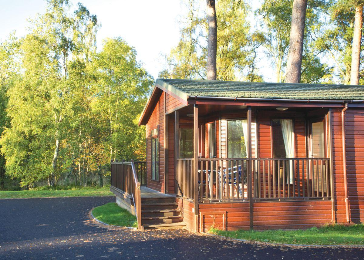 Royal Deeside Woodland Lodges - Holiday Park in Aboyne, Aberdeenshire, Scotland