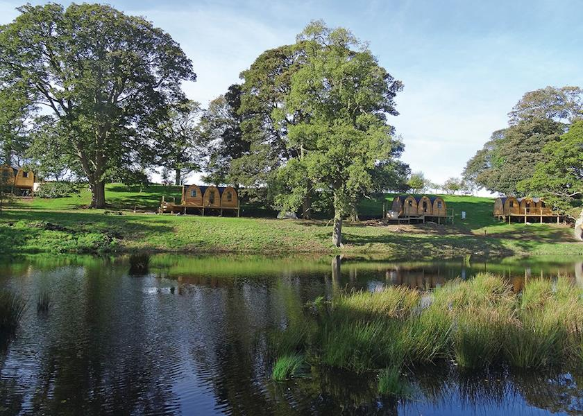 Blossom Plantation Pods - Holiday Park in Chathill, Northumberland, England