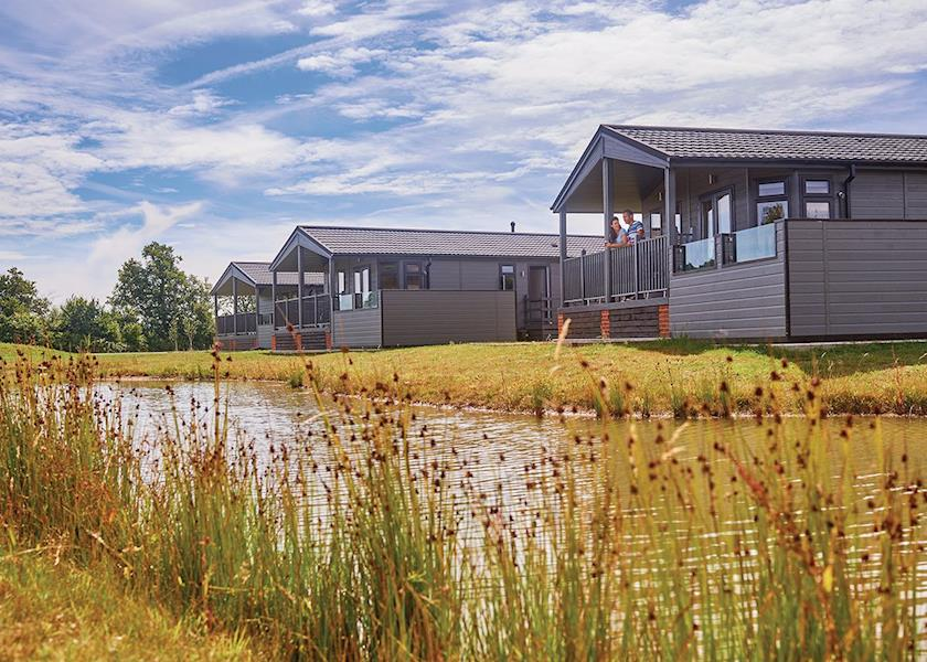 Claywood Retreat Lodges - Holiday Park in Saxmundham, Suffolk, England