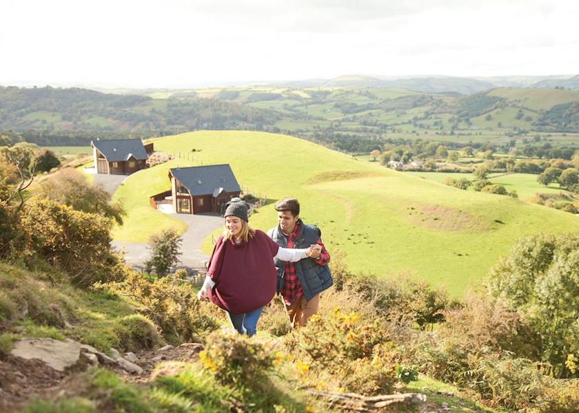 Slate House Lodges - Holiday Park in Llandinam, Powys, Wales