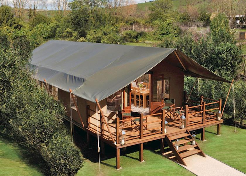 Waterside Safari Tents - Holiday Park in Weymouth, Dorset, England