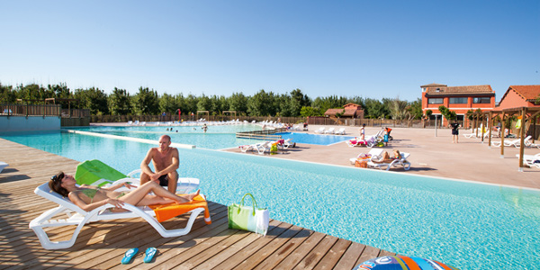 Le Beach Garden - Just one of the great campsites in Languedoc Roussillon, France