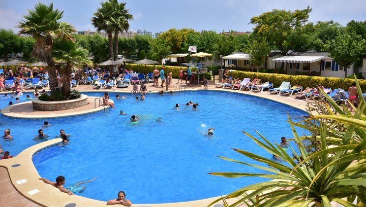 La Masia Campsite - Just one of the great holiday parks in Costa Brava, Spain