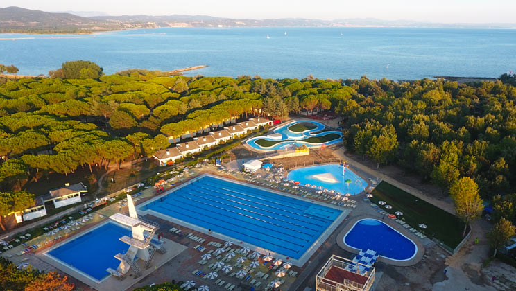 Marina Julia Camping Village - Holiday Park in Monfalcone, Adriatic-Coast, Italy