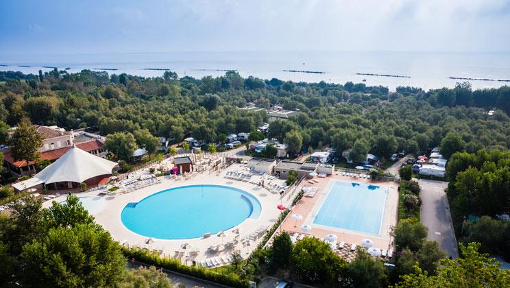 Vigna sul Mar Campsite - Holiday Park in Lido di Pomposa, Adriatic-Coast, Italy