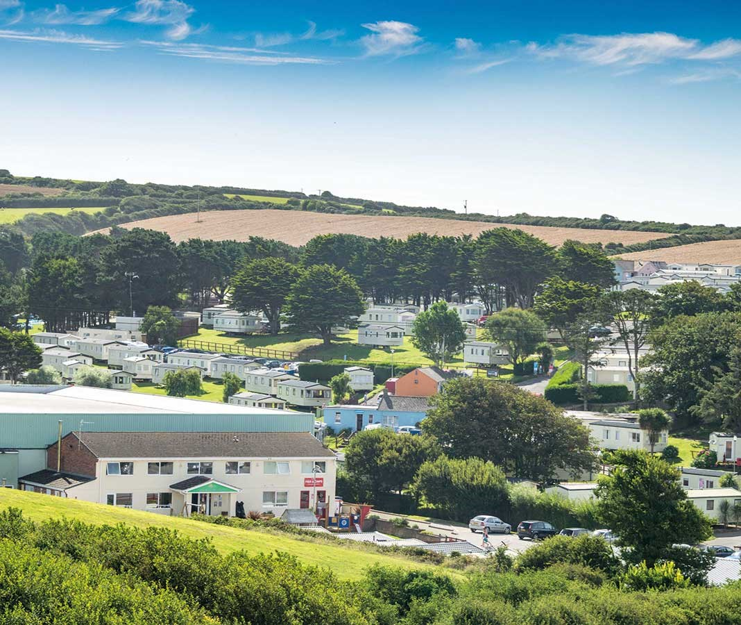 Newquay Bay Resort - Holiday Park in Newquay, Cornwall, England