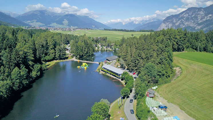 Natterer See - Just one of the great campsites in Tyrol, Austria