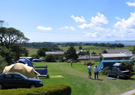 Penhale Caravan and Camping  Park - Holiday Park in Fowey, Cornwall, England