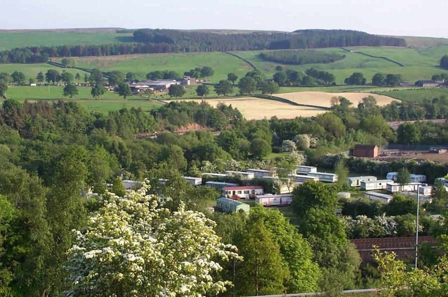 Seldom Seen Caravan Park - Holiday Park in Haltwhistle, Northumberland, England
