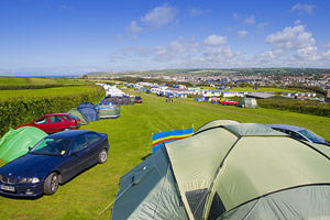 Upper Lynstone Camping and Caravan Park - Holiday Park in Bude, Cornwall, England