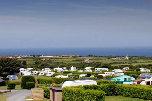 Polmanter Tourist Park - Holiday Park in St. Ives, Cornwall, England